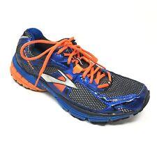 Men's Brooks Ravenna 4 Shoes Sneakers Size 9.5D Running Blue Orange Black AD9