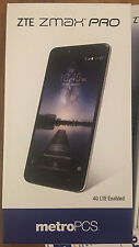 Unlocked New MetroPcs Zte Zmax Pro 32Gb 4G Lte - T-Mobile, At&T, Cricket, Gsm