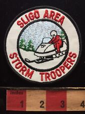 Vtg 1970s Snowmobile Club Patch SLIGO AREA STORM TROOPERS Pennsylvania Patch 71W