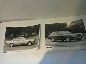 FORD GRANADA MK2 GHIA PROMOTIONAL PHOTO'S NEW OLD STOCK ORGINAL FORD