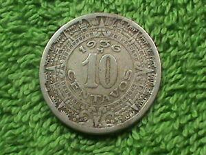 MEXICO 10 Centavos 1936