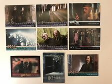 PROMO CARDS: HARRY POTTER ARTBOX (Various Releases) 9 DIFFERENT w/ 2 WORLD OF 3D