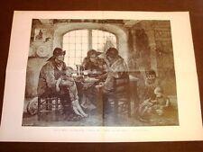 Beaux Arts Les loups de mer Arte I Lupi di mare - Demont Breton Salon de 1885