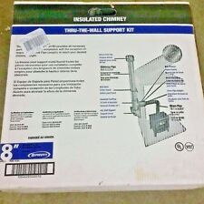 NEW SuperVent 11-Piece Chimney Pipe Accessory Kit for Wall Support JSC8WSK