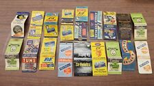 Vintage Collectible Advertising Matchbooks Ex-Lax Tums Vicks