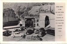 Bingham Canyon UT Copperfield Tunnel Upper Portal 1950s Photo Postcard Mining