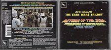 CD JOHN WILLIAMS THE STAR WARS TRILOGY 14 TITRES TBE