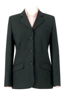 Special offer Ladies Smart Formal work tailored Jacket by Clubclass  Charcoal
