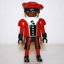 Playmobil valet africain en rouge