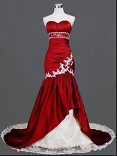 Sweetheart Mermaid Wedding Dresses Sexy Bride Dress Bridal Gowns Plus Size 2++