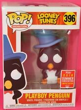 Funko POP Looney Tunes #396 Playboy Penguin 2018 Exclusive Figure Box Defects