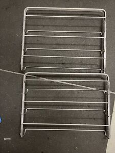 Platinum Elfa Container Store 2' gliding shoe rack (two racks)