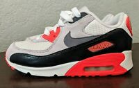 Nike Air Max 90 Ultra Boys White Cool Grey Infrared (2015) 3Y