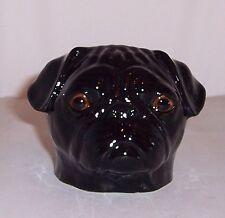 QUAIL Black Pug Faced Egg Cup
