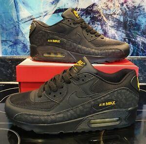 Nike air max 90 Black/Yellow Uk Size 8