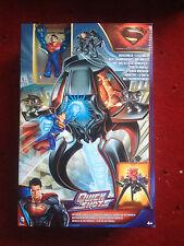 MATTEL DC COMICS SUPERMAN METROPOLIS BATTLE QUICK SHOTS CLARK KENT XMAS GIFT