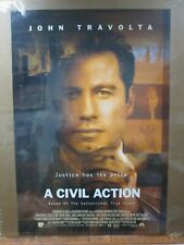 Grease Vintage Poster John Travolta actor 1999 A CIVIL ACTION Inv#4612