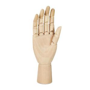 Holzhand Modellhand rechte Hand Zeichenhilfe Gliederhand Deko Hand Zeichenhand