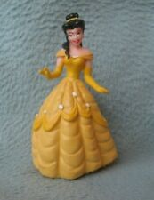 """Belle 3.75"""" Pvc Figure Disney Beauty And The Beast Cake Topper Gc1"""