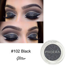 Pro PHOERA Glitter Powder Shimmering 8 Colors Eyeshadow Metallic Eye Cosmetic