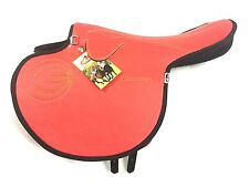 New International Quality Synthetic Race Exercise Saddle Red Light Weight