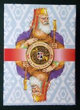 ARMENIA VERY RARE ARMENIAN KINGS PLAYING CARDS NATIONAL DECK PLASTIC CARD BLUE 2