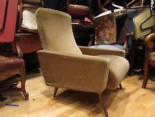 ancien fauteuil design annees 1960 - 70 vintage  club