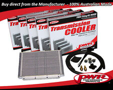 "PWR V8 TRANSMISSION OIL COOLER KIT 280x200x19mm 3/8"" Barbs 23-Rows PWO5388"