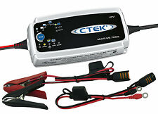 NEW CTEK US 7000 12 Volt Smart Battery Charger Red & Yellow Top Optima AGM GEL