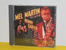 CD - MEL MARTIN - PLAYS BENNY CARTER