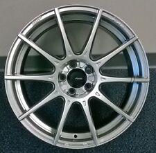 17X9 Advanti Racing Storm S1 5X120 +30 Silver Wheels (Set of 4)