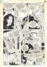 Justice League Europe #36 p.12 - Elongated Man & the Flash 1992 by Chris Wozniak Comic Art