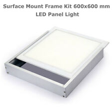 Surface Mount Frame Kit 600x600mm LED Panel Ceiling Aluminum White Finish DCUK