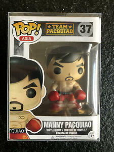 FUNKO POP ASIA Boxer Manny Pacquiao #37 Collect ornaments Figure with Protector