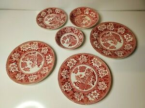 REPRODUCTION OF ROGERS 1780 LOT OF SMALL BOWLS AND PLATES 6 PIECES