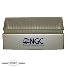 Official NGC 20-Slab Plastic Metallic Coin Storage Box - Sold Individually!