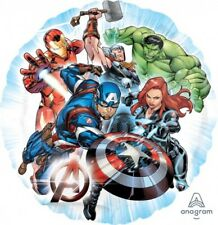 """AVENGERS HELIUM QUALITY 18"""" FOIL BALLOON BIRTHDAY PARTY SUPPLIES"""