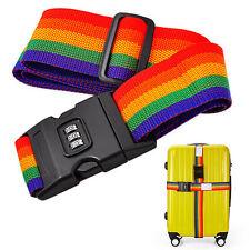 OK Luggage Suitcase Lock Safe Belt Strap Travel Baggage Tie Adjustable