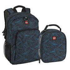 LEGO Brick Blueprint Classic Backpack & Lunch Set