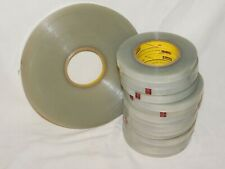 """New listing 3M 8412 Edging & Reinforcing Tape 1/2"""" one 360 yd roll, 15 rolls of 72 yds"""