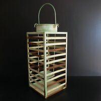 Lanterne métal Art déco vintage design éclairage maison XX France N6479