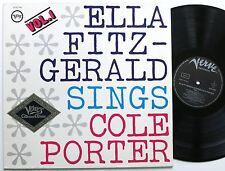 ELLA FITZGERALD SINGS COLE PORTER VOL 1 VERVE VOCAL JAZZ LP MINT-