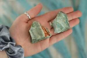Large Raw Green Chrysoprase Rough Crystal