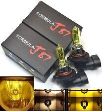 Halogen 9005 HB3 65W 3000K Yellow Two Bulbs Head Light High Beam Plug Play Lamp