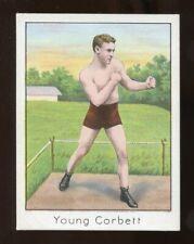 1910 Mecca Cigarettes YOUNG CORBETT Boxing Card Vg-Ex NICE!!