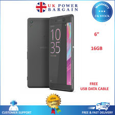 "Sony Xperia XA Ultra 16GB  6"" 3GB RAM Unlocked NFC 4G Smartphone Black - F3211"
