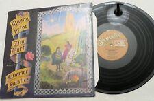 LP, Maddy Prior & Tim Hart, Summer Solstice, Shanachie 79046, SR NM