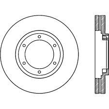 Disc Brake Rotor-C-TEK Standard Front fits 12-14 Mitsubishi Fuso Canter FE160