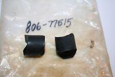 2 NOS Yamaha snowmobile rear bumper rubber bushings gp sl ew sw tw 292 338 433