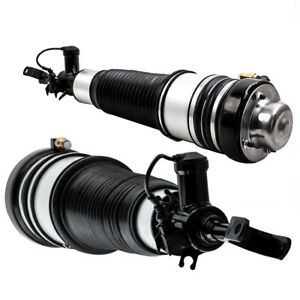 Front Air Ride Suspension Spring Pair for Audi S6 2005 2006 2007 2008 2009-2011